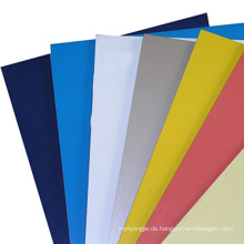 1050 1060 3003 PE PVDF Aluminium beschichtete Spule für Wand Extrior Dekoration
