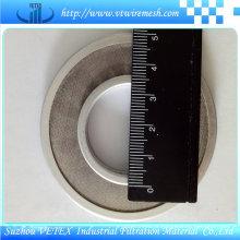 Malha de disco de filtro de borda coberta de aço inoxidável