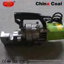 Découpeuse électrique hydraulique portative automatique de barre d'acier de coupeur de Rebar