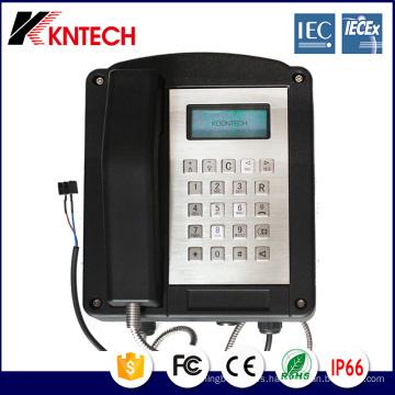 Teléfono de emergencia Teléfono antiexplosión Koontech Knex1
