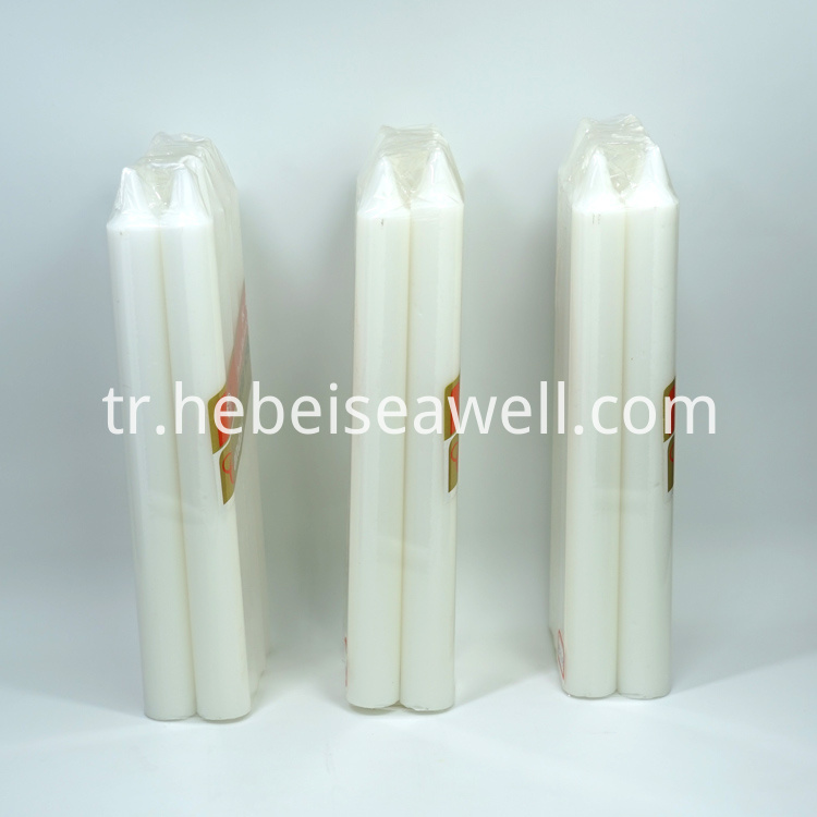 White Stick Candle 11
