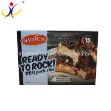 ISO9001:2008 Hot sale custom printing food grade food box packaging