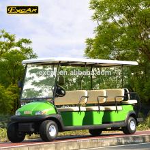 Coche de golf turístico de 11 asientos con carrito de golf eléctrico