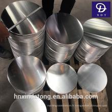 Non-bâton 1050/1060/1070 en aluminium cercle prix