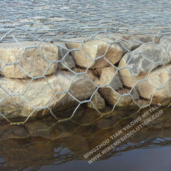 100x120mm Hexagonal Wire Mesh Gabion