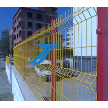 3D Curvy Welded Wire Mesh Panel/3D Welded Panel Fence