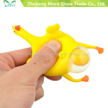 Hot Sell Halloween Vent Chicken Laying Egg Keychain Tricky Toys for Fun