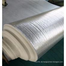 Aluminiumfolie Beschichtete Polyesterwatte