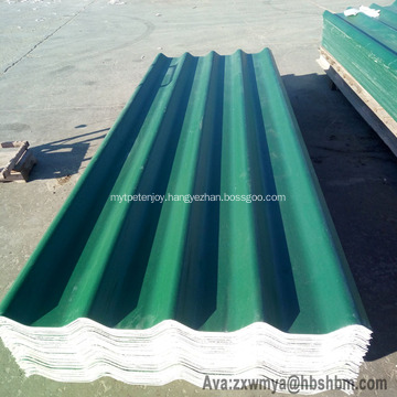 """""""Iron Crown """"MgO PET Membrane Wave Roofing Sheets"""