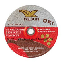 """T27 Disco de rectificado de centro deprimido para metal 9 """"X1 / 8"""" X7 / 8 """""""