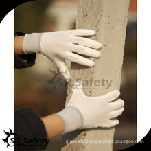 SRSAFETY nylon PU palm fit coated work glove on sales