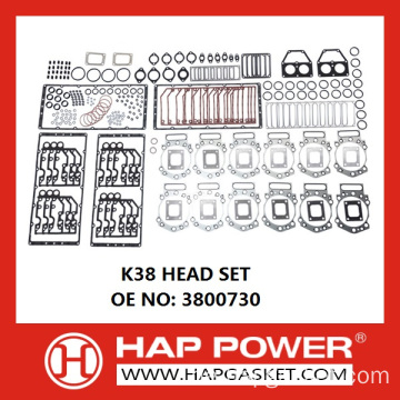 CUMMINS K38 KOPF SET