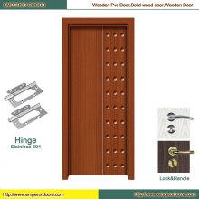 Porte en bois de porte en bois avant Porte en bois voûtée de fournisseur