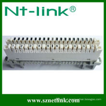 Desconexão e módulo de conexão da rede de 10 pares de alta