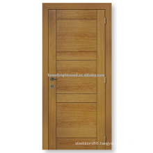 Natrual veneered interior flush wooden door