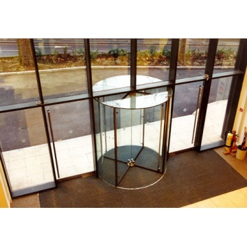 All Glass Revolving Doors with Torque Control Function