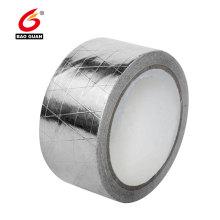 Ruban de papier d'aluminium renforcé de toiture adhésive conductrice