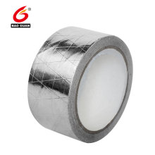 Fita adesiva reforçada da folha de alumínio da telhadura adesiva