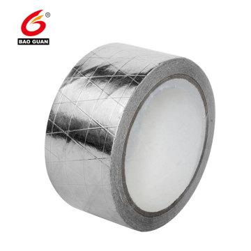 Cinta adhesiva de aluminio reforzada para techos conductivos