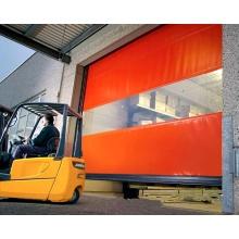 Puerta de persiana de cortina suave de tela de PVC automática