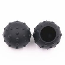 piezas de caucho de silicona moldeadas a medida bola de goma hueca