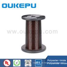 classF esmaltou o fio de cobre, fio de cobre esmaltado liso, fio de cobre esmaltado retangular
