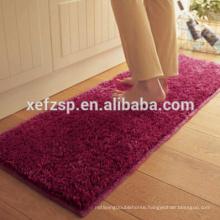 wholesale cheap polyester toilet bathroom area rugs set