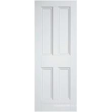 Puerta interior de estilo victorian rochester blanco imprimado con abalorios estándar