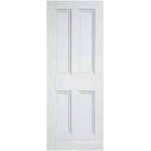 Porta interna em estilo vitoriano rochester preparada a branco com perolização padrão