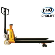 2T Manual Scale Pallet Truck With printer