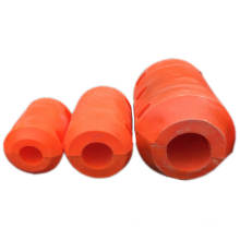 Deers HDPE pipe floater dredge pontoon for dredging pipe