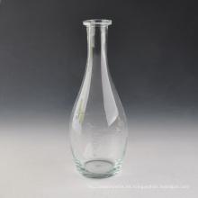 Florero de cristal hecho a mano decoración del hogar
