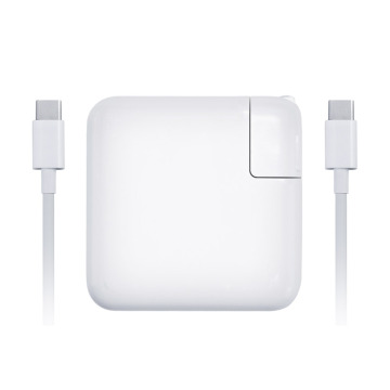 Adaptador de energia USB C 87W para Apple macbook