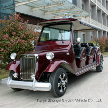 New Design 8 Seater Electric Classic Sightseeing Shuttle Car Tour Bus