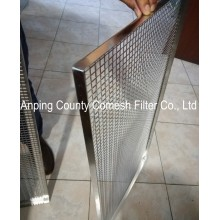 Stainless Steel Perforated Plate Screen Tray Sieve
