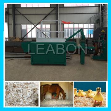 1t/H Farm Use Horse Bedding Wood Shaving Machine