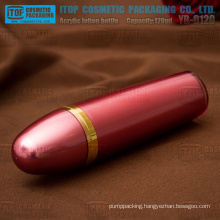 YB-O120 120ml 1st grade pmma acrylic material bullet shape heavy weight empty plastic bottle