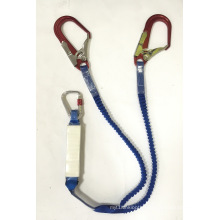 Energy Absorber Lanyard Safety Rope, 13mm*1.5m