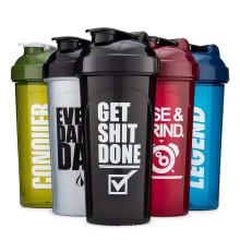 Hot Sale 700ml Empty Liquor Sports Free Plastic Spice Custom Logo Gym Shaker Bottle