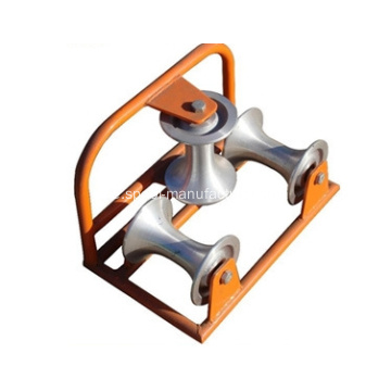 Heavy Duty Triple Corner Kabelrolle