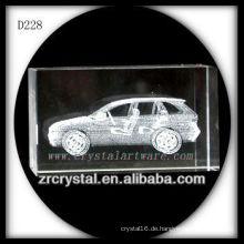 K9 3D Lasersubsurface Auto innerhalb des Kristallblocks