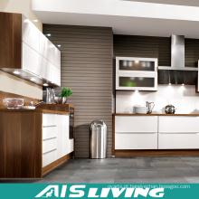 Mobília de madeira em forma de L dos armários de cozinha da grão (AIS-K298)