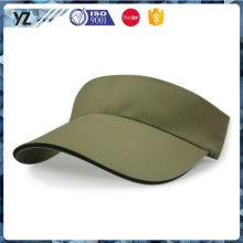 Fábrica Popular atraente estilo barato esporte sun visor cap em muitos estilo
