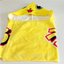 China supplier hooded towel baby Japan cartoon organic baby towel Boys &Girls baby face towel