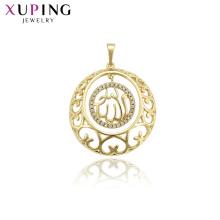 33747 мусульманские украшения Xuping, подвеска Аллаха, покрытая золотом 14k