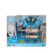 10m3 200bar 50L cylinder filling 20Nm3/h 30Nm3/h 50Nm3/h Oil-free Oxygen Gas Booster Compressor