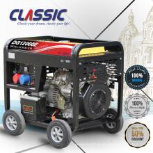 CLASSIC (CHINA) Generador Diesel Enfriado por Aire 12kw, Generador Diesel de Panel Digital, Generador Diesel de Potencia Chino