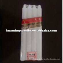 good quality white pillar candles