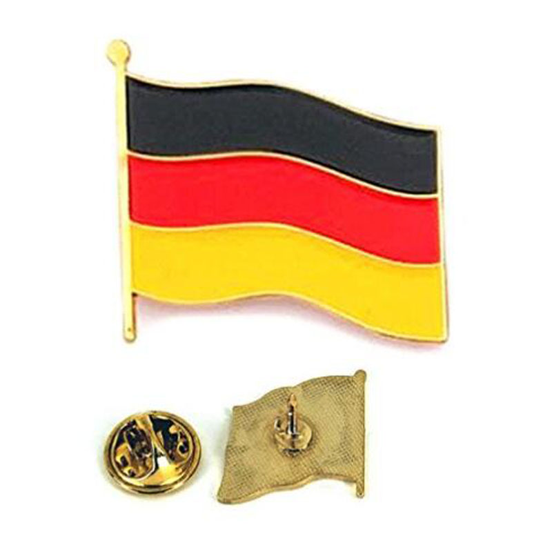 Germany Flag Lapel Pin And Stick Hat Brooch Pin