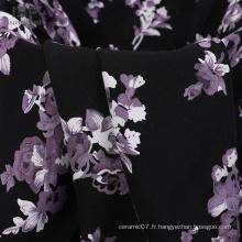 Chemise à motif imprimé Stock de tissu rayonne